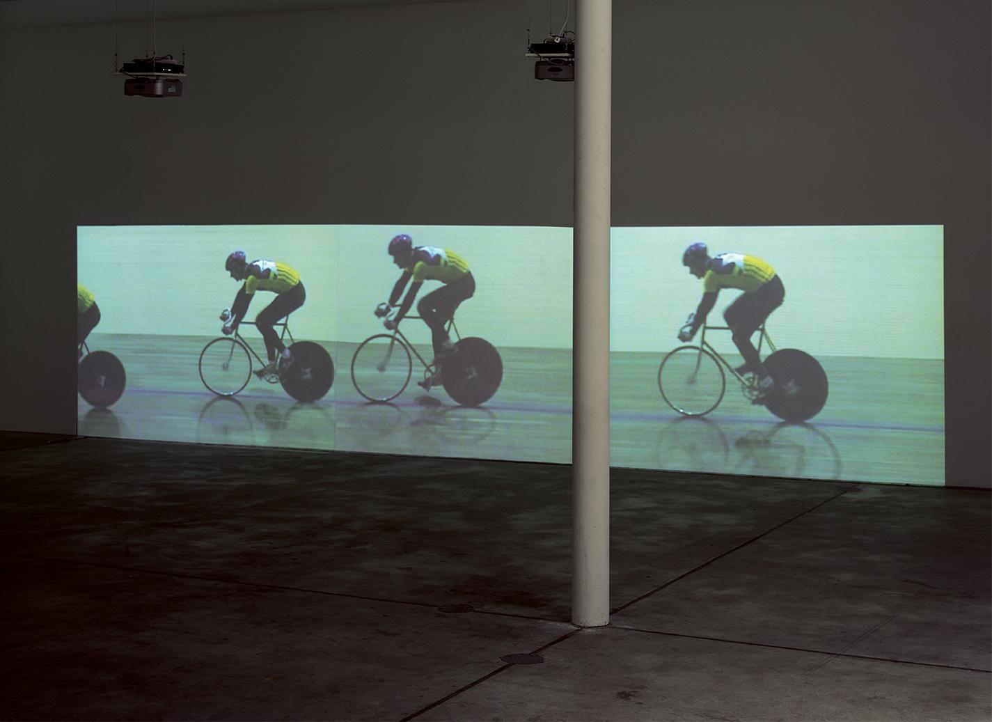 Radfahrer (Hase und Igel), 2000
